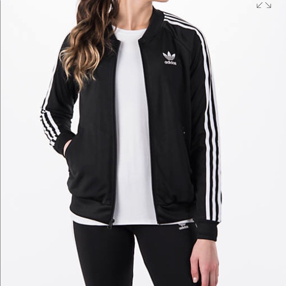 Women's Adidas Original Superstar Track Jacket NWT